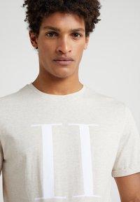 Les Deux - ENCORE  - Print T-shirt - beige - 4