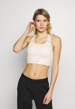 POCKET BRA PAD - Sport-bh met medium support - light cream/washed coral/light thistle