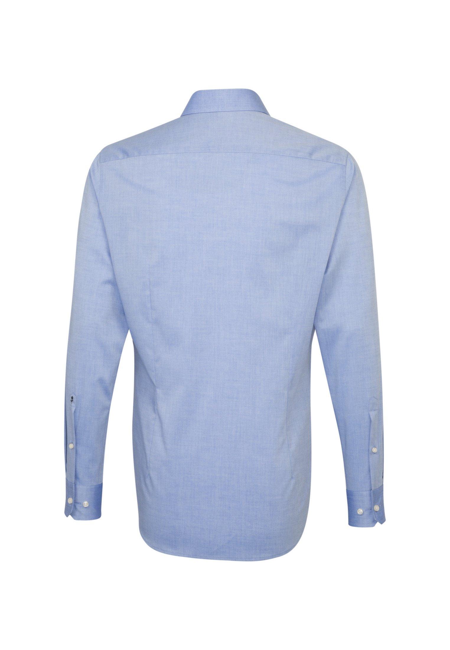 Seidensticker TAILORED FIT - Chemise - blau
