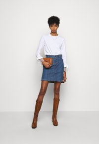 See by Chloé - A-line skirt - deep denim - 1