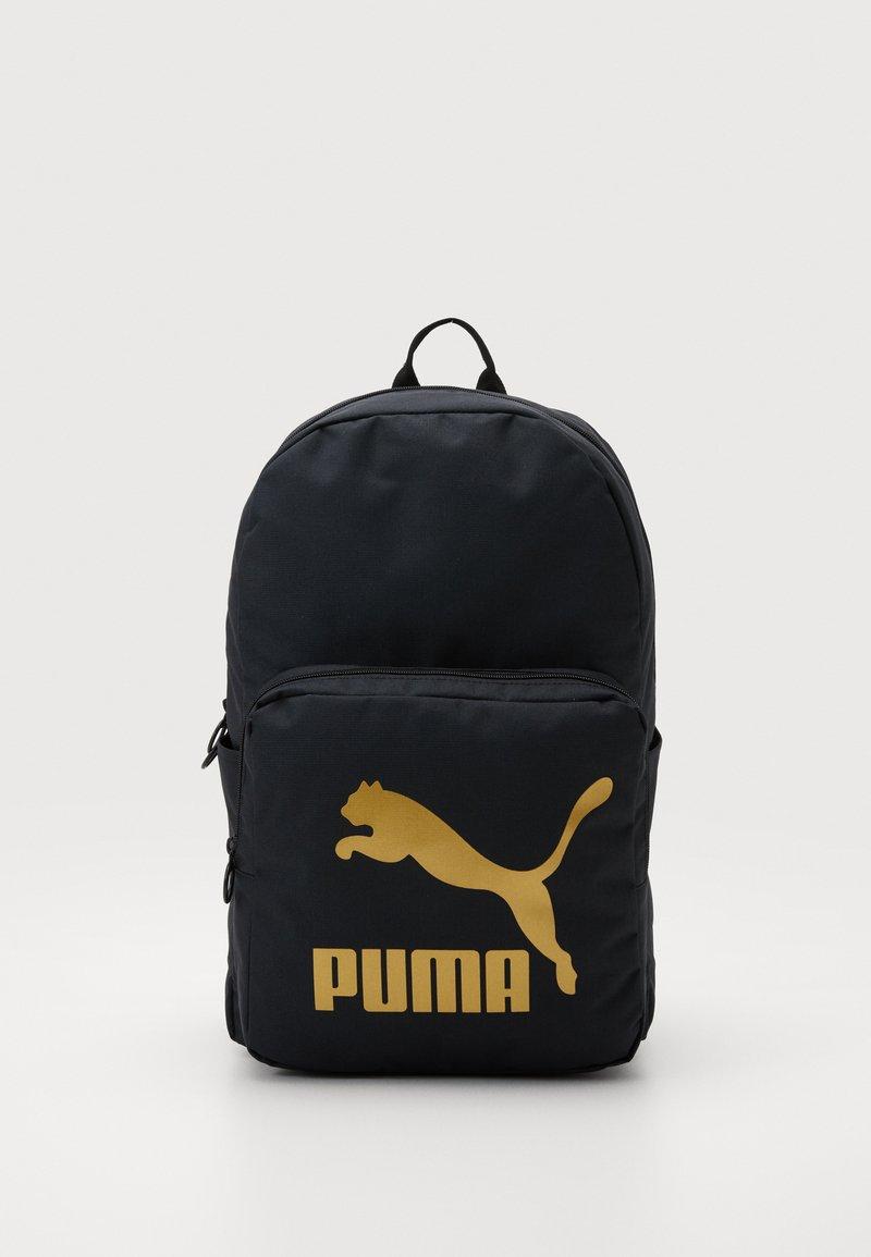 Puma - ORIGINALS BACKPACK - Rucksack - black/gold