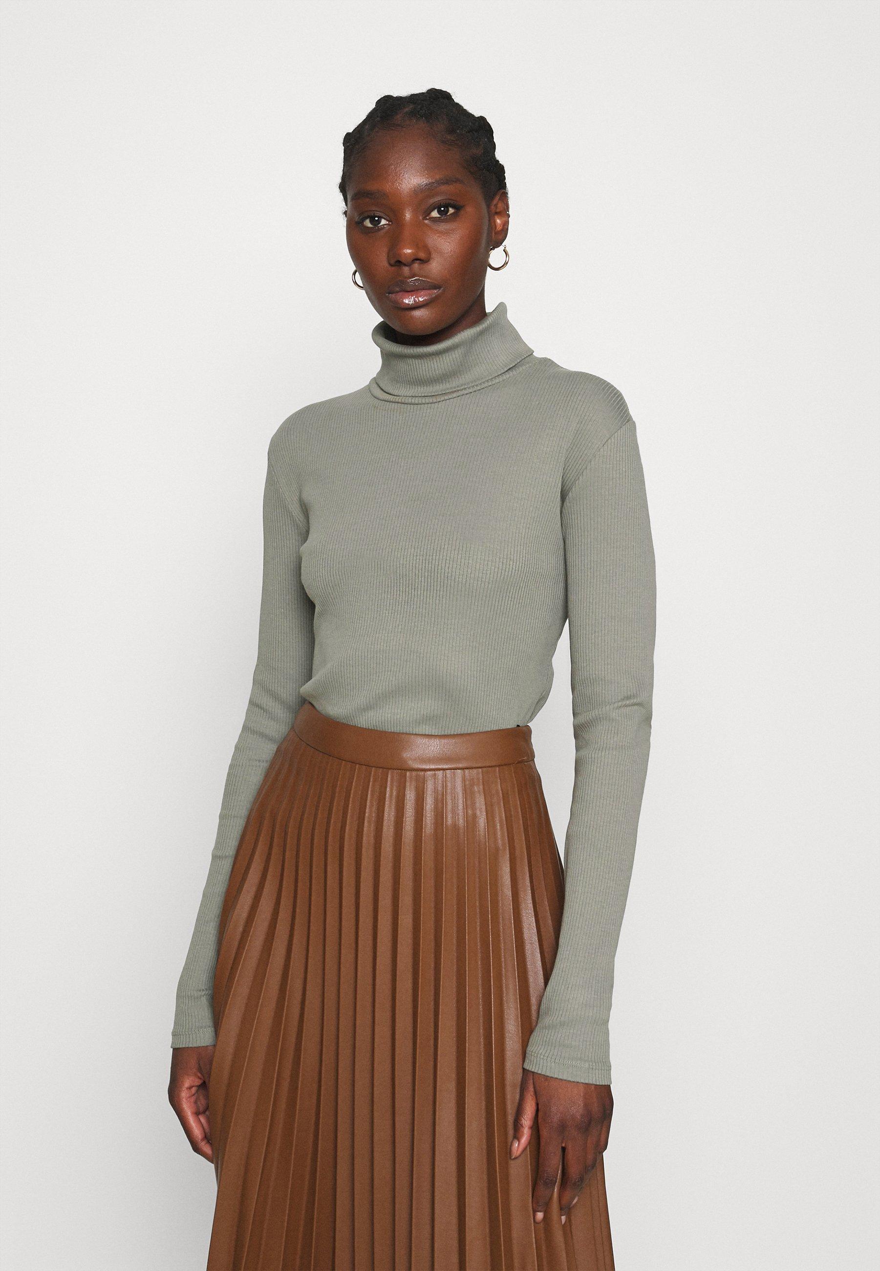 Women ROLLNECK - Long sleeved top