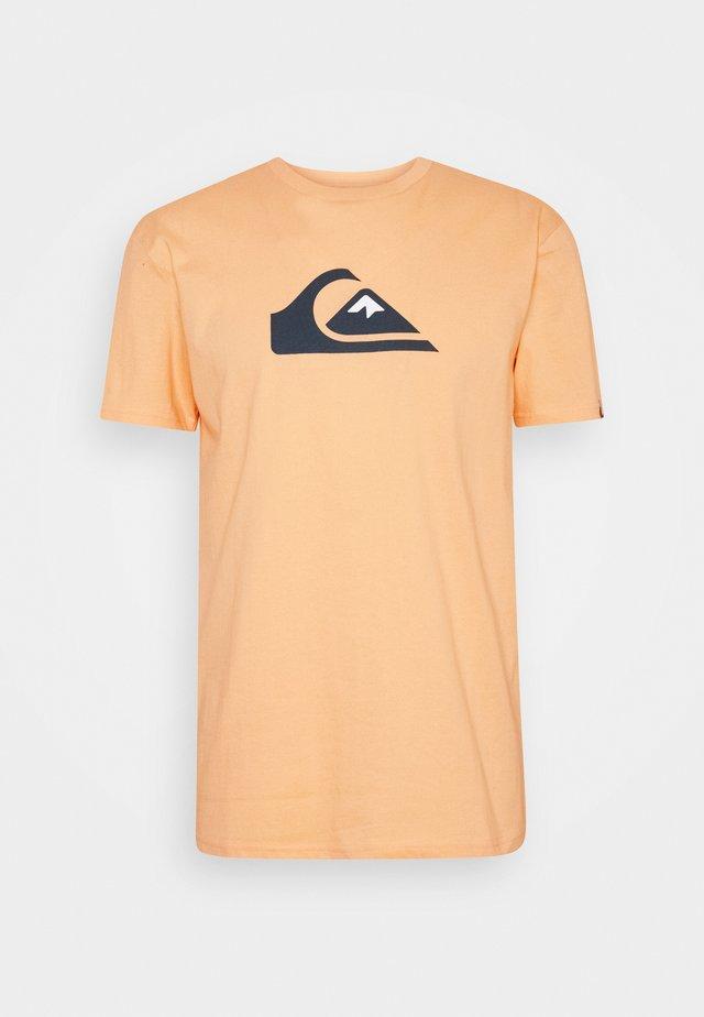COMP LOGO  - T-shirt imprimé - apricot