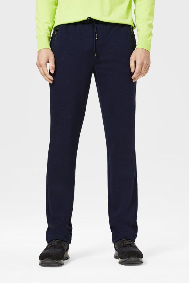 BONO - Tracksuit bottoms - navy-blau