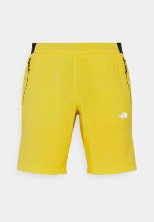 GLACIER SHORT - Träningsshorts - citronellegreen