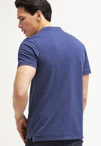 Selected Homme - SLHARO EMBROIDERY - Polo shirt - dark blue melange - 2
