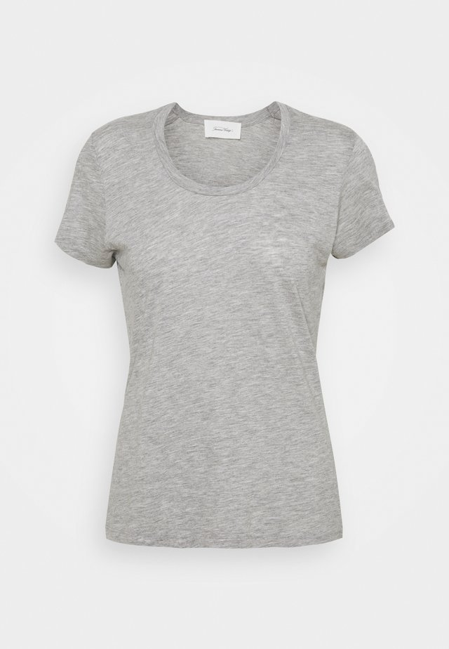 JACKSONVILLE ROUND NECK - T-shirt basique - gris chine