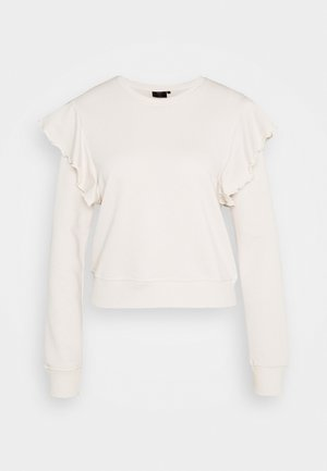 ONYTYRA LIFE FRILL - Sweatshirt - moonbeam