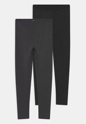 KID 2 PACK - Leggings - Trousers - pirate black/paloma