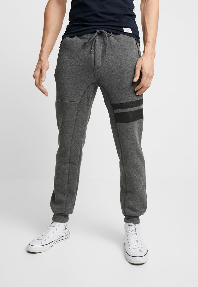 Pier One - Pantalon de survêtement - mottled dark grey