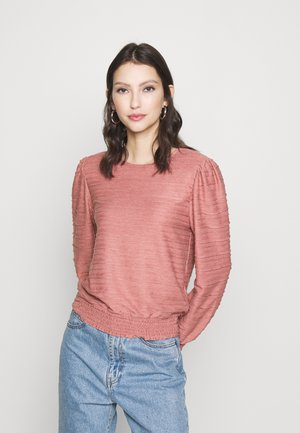 ONLKELLY SHORT - Long sleeved top - withered rose