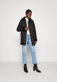 Freaky Nation - ARCTIC VILLAGE - Cappotto invernale - black - 1