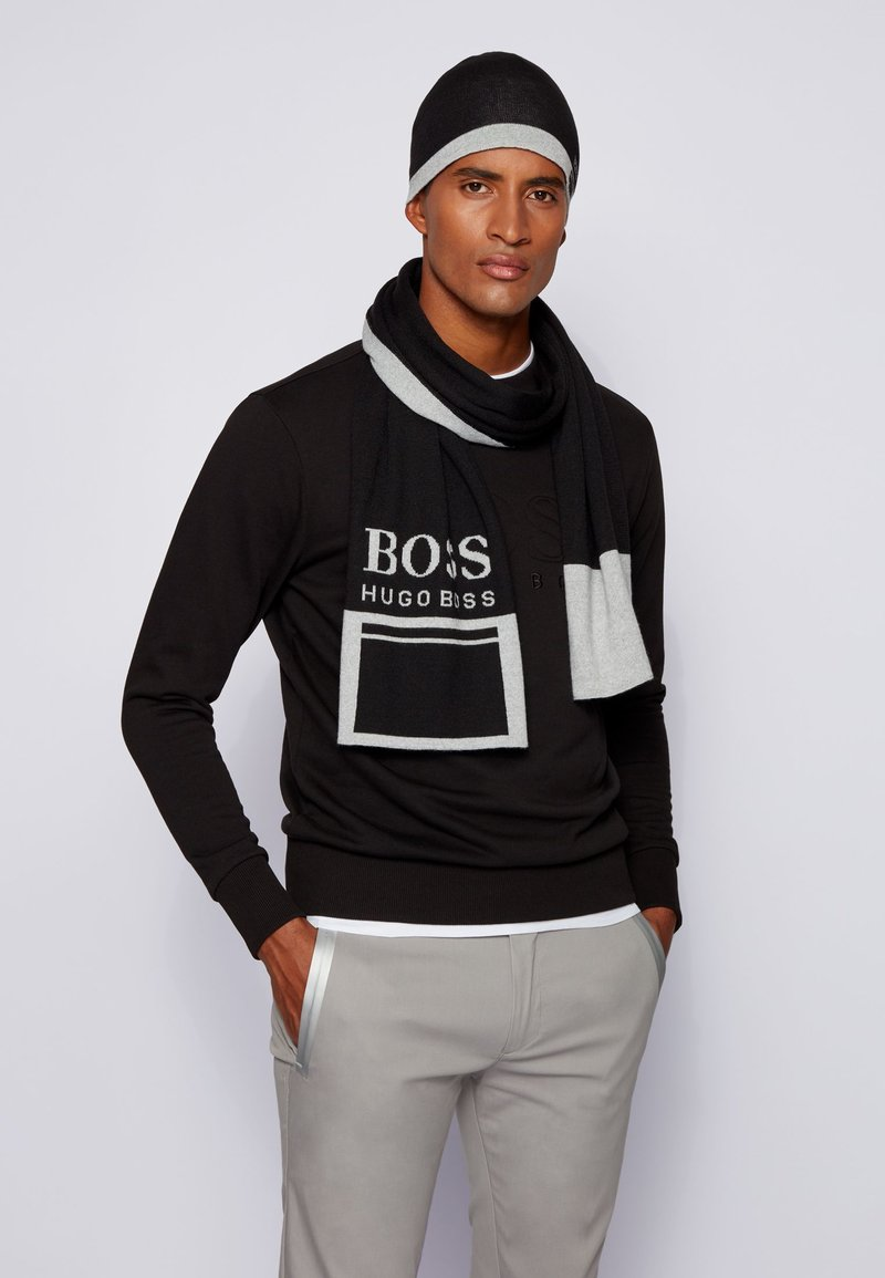 BOSS - ALBO - Beanie - black