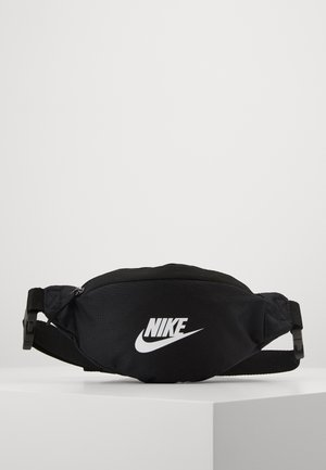 HERITAGE - Bum bag - black/white