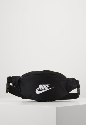 HERITAGE - Bum bag - black/white