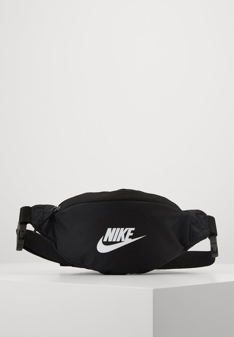 Nike Sportswear - HERITAGE - Bum bag - black/white
