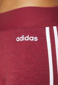 adidas Performance - Leggings - bordeaux/white - 4