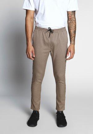 EDWARD - Kalhoty - brown
