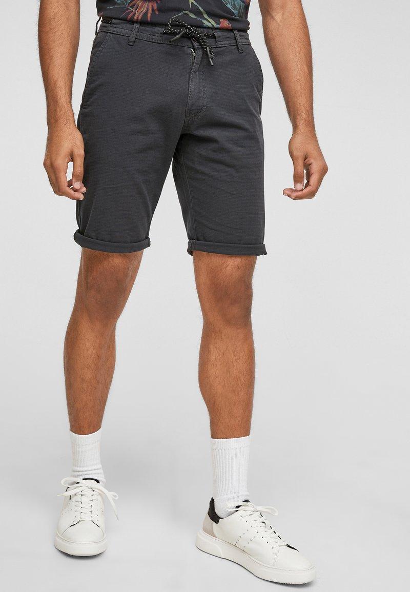 Q/S designed by - Shorts - dark grey