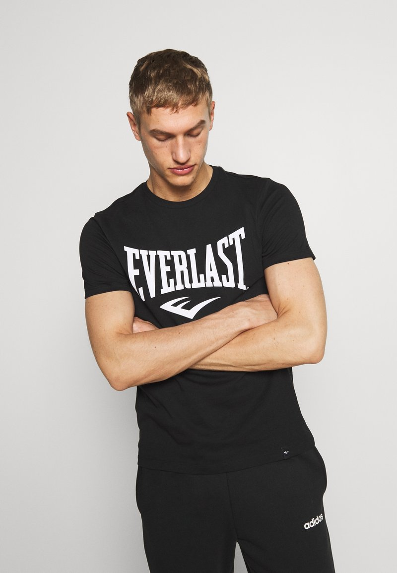 Everlast - LOUIS - Triko spotiskem - black