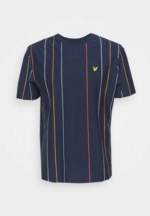 VERTICAL STRIPE - T-shirt med print - navy