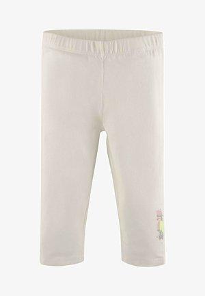 Tracksuit bottoms - cloud dancer|white