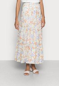Esprit - SKIRT - Maxi skirt - off white - 0