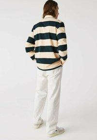 Lacoste - Polo shirt - beige / vert fonce / beige - 1
