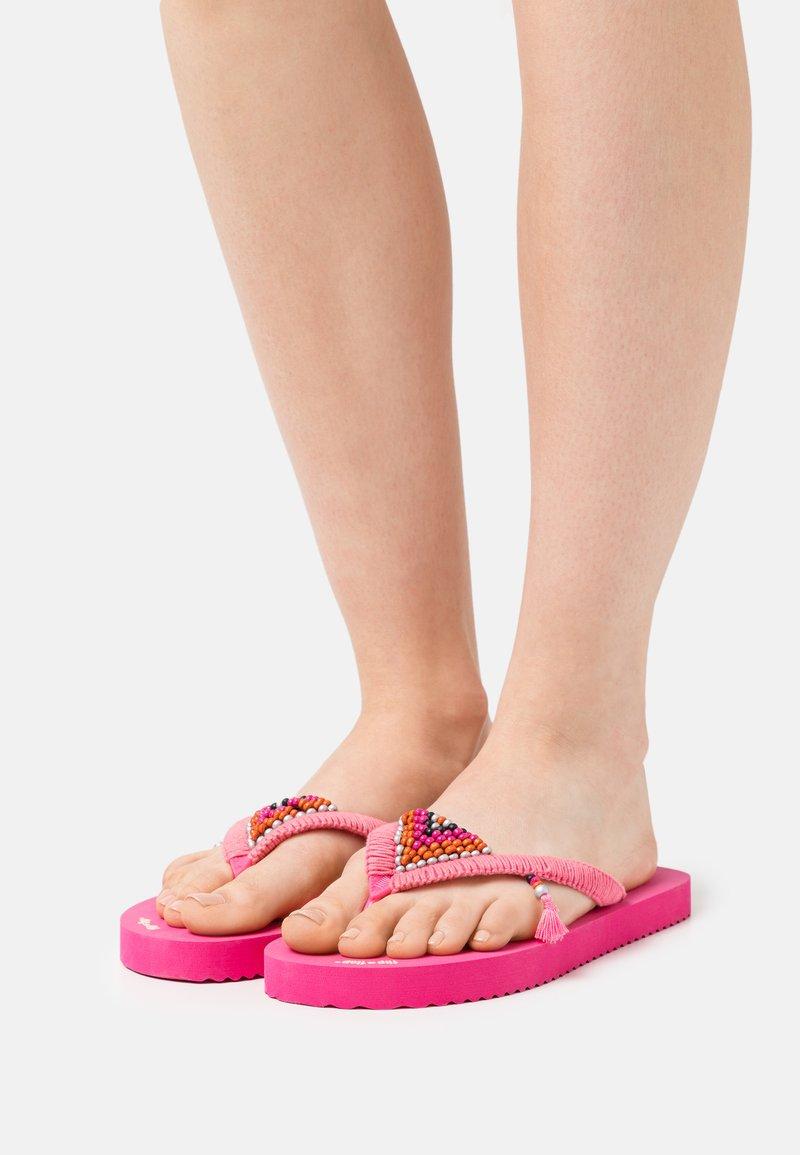 flip*flop - ORIGINALS TRIANGLE - T-bar sandals - very pink