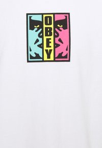 Obey Clothing - DIVIDED - Printtipaita - white - 2