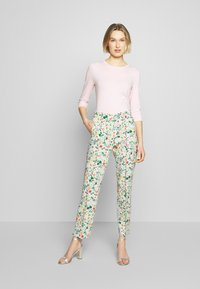 RIANI - Trousers - mint patterned - 1