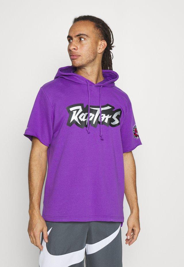 NBA TORONTO RAPTORS GAMEDAY HOODY - Hættetrøjer - purple/raptors purple