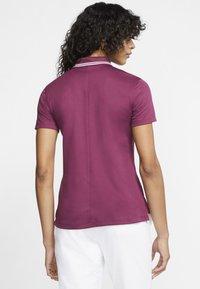 Nike Golf - DRY VICTORY - Sports shirt - villain red/white - 2