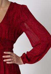 Indiska - VARJA - Maxi šaty - red - 4