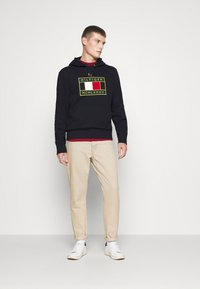 Tommy Hilfiger - ICON BADGE HOODY - Sweat à capuche - blue - 1