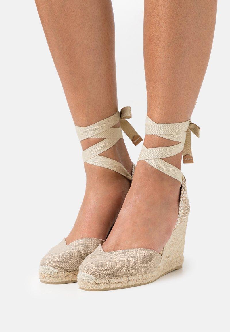 Castañer - CHIARA  - Platform sandals - sand