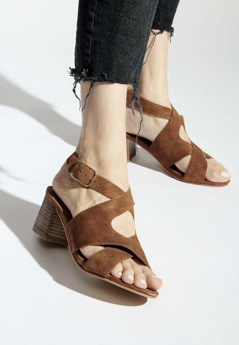 White Sun - MADINA  - Sandals - camel