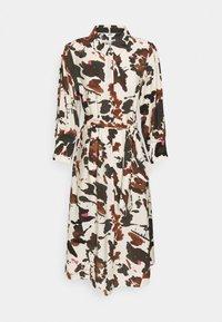 Object - OBJALIKA SHIRT DRESS - Kjole - sandshell - 0