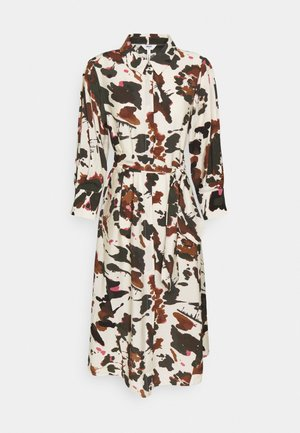 OBJALIKA SHIRT DRESS - Kjole - sandshell