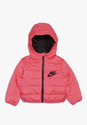 FILLED JACKET BABY - Winter jacket - racer pink/black