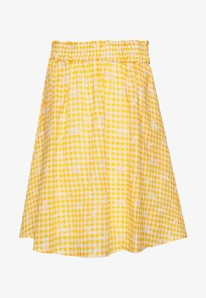 YASMANVI SKIRT - A-line skirt - cadmium yellow/star