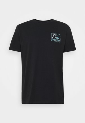 BEACH TONES - Print T-shirt - black