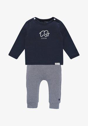 BABY SET - Leggings - Trousers - navy