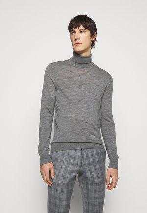 NEVILE - Stickad tröja - medium grey