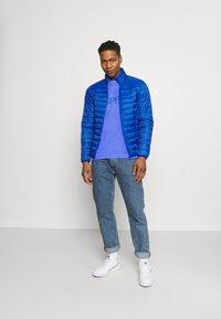 Esprit - LOGO - Print T-shirt - blue - 1