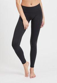 Vila - 2PACK - Leggings - Trousers - black - 1