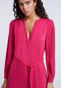 SET - MIT GÜRTEL - Day dress - pink - 3