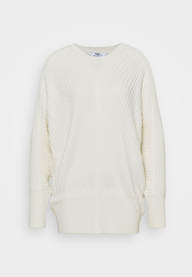 BATWING CREW NECK JUMPER - Trui - cream