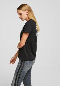 KARL LAGERFELD - KARL TEE - Print T-shirt - black - 3