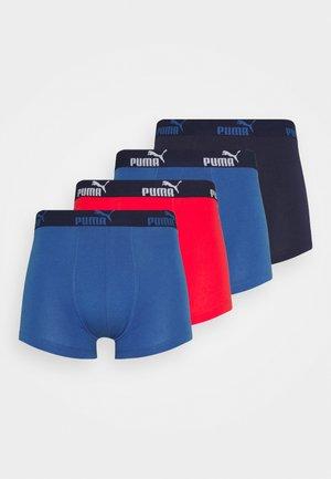 MEN PROMO BOXER 4 PACK - Culotte - red/blue
